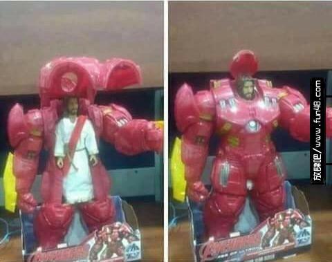 耶稣穿钢铁装甲
